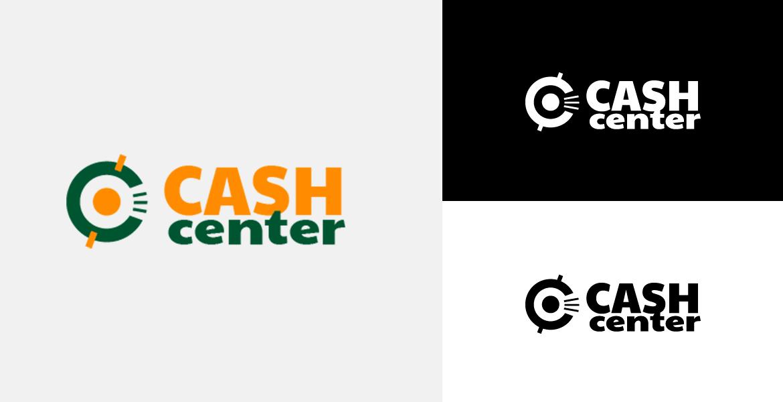 Cash Center. Logo Design